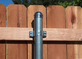 Metal Fence Post Brackets Professional Deck Builder Fencing And Railing Locksets And Hardware Products Steel Fence Posts Metal Fence Posts Metal Fence