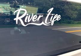 Rl Window Decal River Life