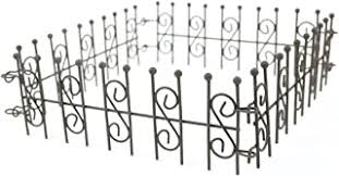 Top 10 Best Miniature Wrought Iron Fence In 2020 Reviews Ratings