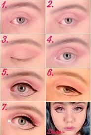 tutorial doll eye makeup saubhaya makeup