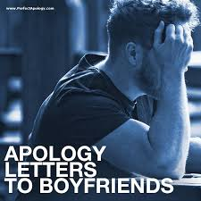 apology letter to a boyfriend how to
