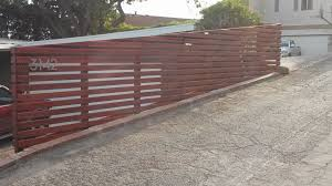 Pin By Angie Goeman Pritzel On Fence Sloped Yard Wooden Fence Panels Building A Fence