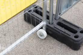 Heras Pedestrian Security Gate Mesh Temporary Fencing Safe Fence