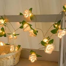 20 LED Hoa Hồng Dây Hoa Chạy Bằng Pin Tiên Đèn Cưới Nhà Sinh Nhật Lễ Tình  Nhân Sự Kiện Đảng Vòng Hoa Trang Trí Luminaria|