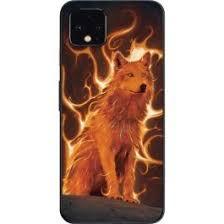 Phoenix Wolf Pixel 4 Skin