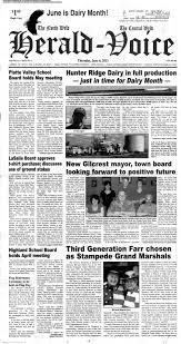 The North Weld Herald-Voice June 6, 2013: Page 1