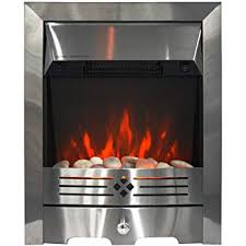 electric fire insert style fireplace