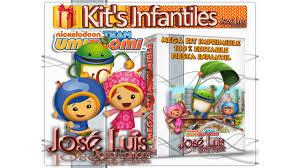 Kit Imprimible Invitaciones Set Theme Party Team Umizoomi Jose