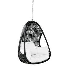 fauteuil suspendu de jardin en résine