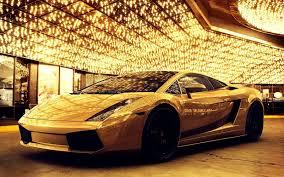 Gold 4k Ultra Hd Cool Cars Wallpaper