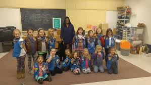 Gardiner Girl Scouts salute a veteran - CentralMaine.com