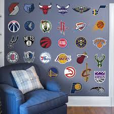 Nba Logo Collection Large Officially Licensed Wall Graphics