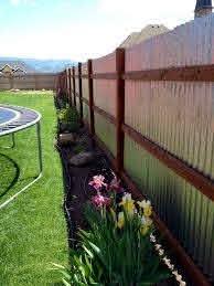 70 Simple Cheap Diy Privacy Fence Design Ideas Privacy Fence Landscaping Privacy Fence Designs Backyard Fences