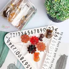 Kẹo mút hoa quả nguyên chất handmade cho bé ăn dặm Chichani - Thế giới ăn  dặm cho bé