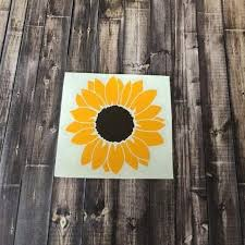 Best Brand New Made By Me Sunflower Vinyl Decal For Sale In Pensacola Florida For 2020