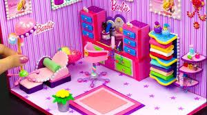 diy miniature barbie salon and makeup