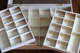 diy jewelry organizer storage box