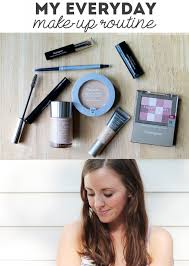 my daily makeup routine sunny with a