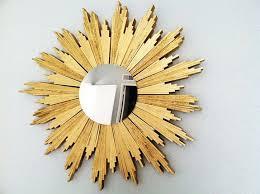 diy sunburst mirrors using shims