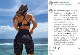 Model Adriana Hughes Delights Fans With 'No Equipment' Beach Workout For  Lower Body - VIDEO - Redefining Social