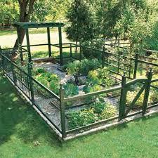 vegetable garden fence ideas
