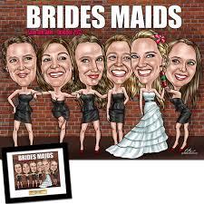 bridesmaids gifts custom bridesmaids