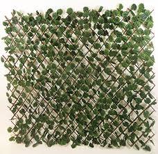 Expandable Faux Ivy Trellis 60 H Set Of 4 Amazon Co Uk Garden Outdoors