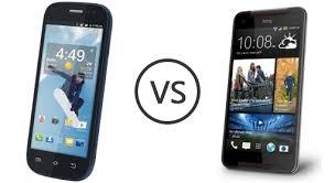 Spice Mi-502 Smartflo Pace2 vs HTC ...