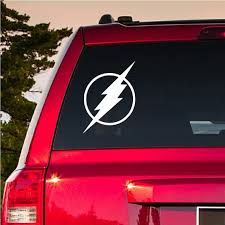 Buy2get1free The Flash Symbol Justice League Vinyl Decal Car Etsy