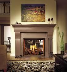 traditional fireplace mantel cornice