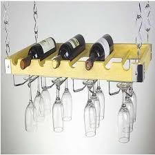 hanging wine glass rack bar equipment