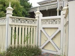 Steve And Julie S Victorian Home Fence Design Fence Styles Victorian Homes