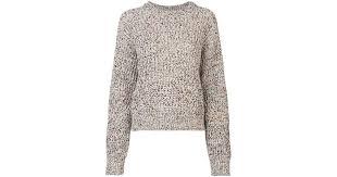 veronica beard cotton ryce sweater lyst