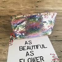 glitter cosmetic bag whole uk