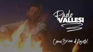 Paolo Vallesi - Come Brina d'Agosto (Video Ufficiale) - YouTube