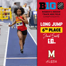 Jewel Smith leaps 6.03m to put points on... - Maryland Track ...