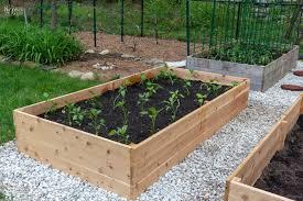 diy raised garden beds tutorial the