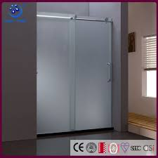 2 panels frosted glass sliding doors