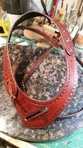 shoulder holster harness leather