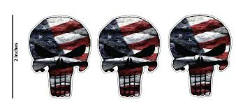 Usa Decal Flag United States Old Glory Vinyl Car Window Decal Bumper Sticker