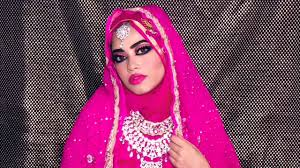 dubai style bridal makeup jewellery