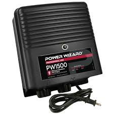 Power Wizard 110v Plug Ln Fence Charger 1 5 Joules Ramm Horse Fencing Stalls