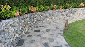 Retaining Walls Block Walls Stone Fence Ideas Traditional Landscape By Brick Block Stone Masonry