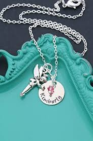 personalized fairy necklace dii aaa