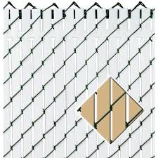 Pexco 6 Ft X 10 Ft Beige Privacy Fence Slat Pvtbx Bge6 The Home Depot