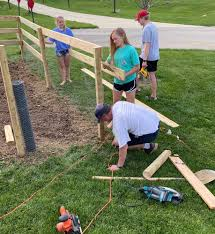 Deer Fence How We Created A Vegetable Garden Fence