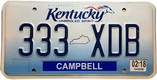 Vehicle Registration Plates Of Kentucky Wikipedia