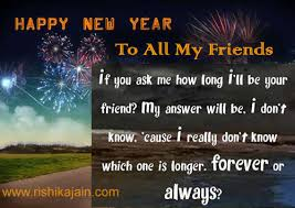 happy new year to all my dear friends inspirational quotes