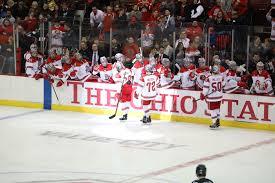 ohio state men s ice hockey score the