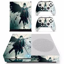 Anime Naruto Sasuke Skin Sticker For Microsoft Xbox One S Console And 2 Controllers For Xbox One S Skins Stickers Vinyl Consoleskins Co